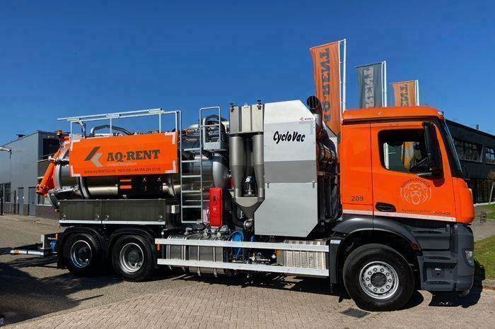 vacuum tanker cyclovac koks aq rent uk 21 09 2020