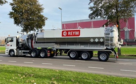 recently delivered koks ecovac truck trailer combination reym 220425 10 11 2020