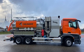 recently delivered vacuum truck koks cyclovac aq rent 220394 27 10 2020