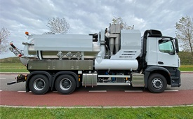 recently delivered vacuum truck koks cyclovac pro yuhantech 219364 03 11 2020